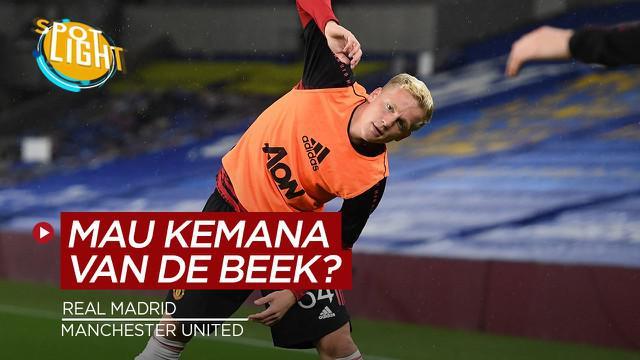 Berita video spotlight kali membahas tentang empat klub yang bisa selamatkan karir Donny van de Beek, salah satunya ialah Real Madrid.