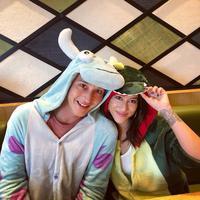 Mike Lewis dan Janisaa Pradja. (Foto: instagram.com/janisaas)