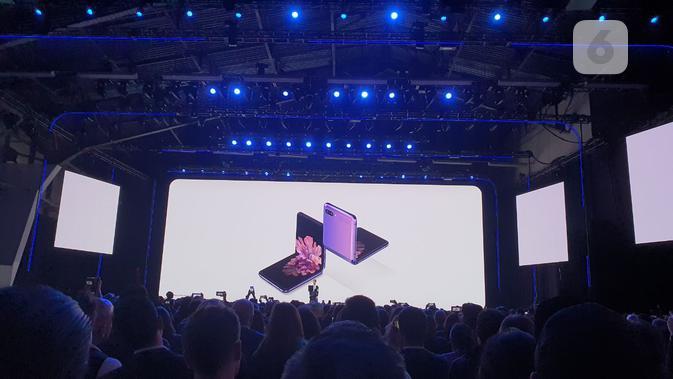 Galaxy Z Flip (Liputan6.com/ Agustin Setyo Wardani)