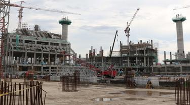 Melihat Progres Pembangunan Jakarta International Stadium