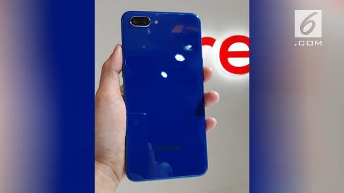 Peluncuran smartphone Realme. Liputan6.com/ Agustin Setyo Wardani