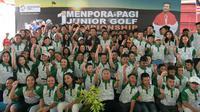 Menpora ingin turnamen PAGI Junior Golf Championship digelar rutin.
