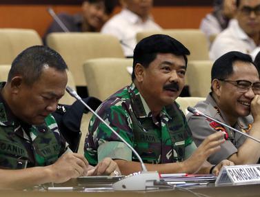 DPD Bahas Evaluasi Pemilu Bersama Kapolri hingga Panglima TNI