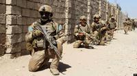 Pasukan Komando Elite Afghanistan memerangi Taliban. (AFP)