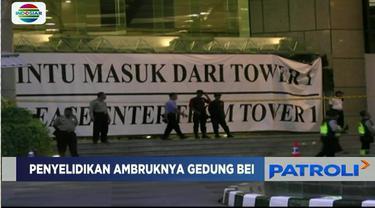 Usai oleh TKP di Gedung BEI, kini polisi tengah melakukan pengujian di laboratorium forensik.