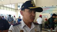 Kepala UPT Terminal Pulo Gebang, Ismanto (Dok Foto: Liputan6.com/Maulandy Rizky Bayu Kencana)