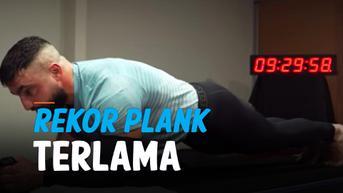 VIDEO: Pria Australia Pecahkan Rekor Dunia Plank Lebih dari 9 Jam