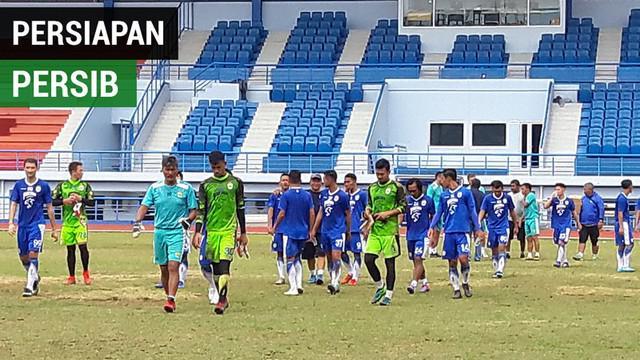Berita video latihan dengan gim internal tim Persib Bandung untuk persiapan 32 besar Piala Indonesia 2019 melawan Persiwa Wamena, Rabu (16/1/2019).