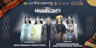 Kemeriahan Fimela Magnificent 11, Hadirkan Keindahan Batik Tarakan x Danjyo Hyoji