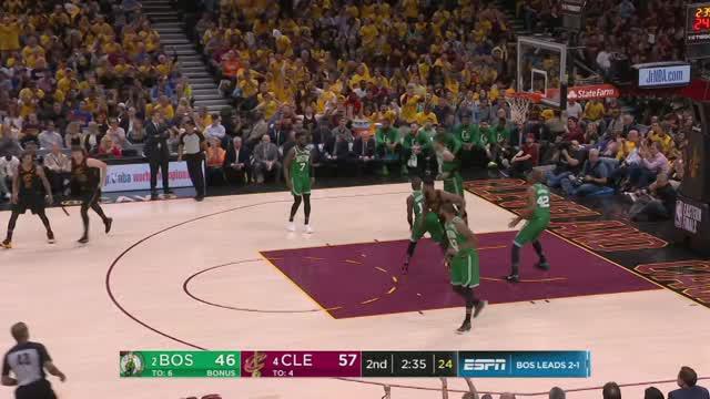 Berita video game recap NBA 2017-2018 antara Cleveland Cavaliers melawan Boston Celtics dengan skor 111-102.