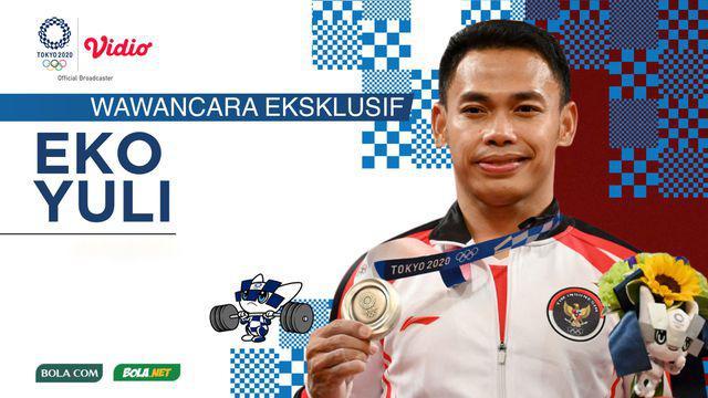 Berita video wawancara eksklusif Bola.com dan Bola.net dengan Eko Yuli Irawan, yang bisa disebut legenda angkat besi yang sudah merasakan sensasi 4 medali Olimpiade secara beruntun.