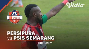 Berita video highlights pekan pertama Shopee Liga 1 2020 antara Persipura Jayapura melawan PSIS Semarang di Stadion Klabat, Minggu (1/3/2020).
