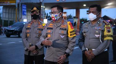 Kakorlantas memantau langsung situasi arus lalu lintas mulai Jakarta hingga Pejagan