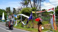 Alat peraga kampanye yang dipasang KPUD Bengkulu sudah rusak saat masa kampanye masih berlangsung(Www.sulawesita.com)