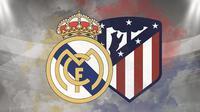 Real Madrid vs Atletico Madrid. (Bola.com/Dody Iryawan)