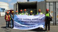 Impor daging kerbau oleh PT Berdikari (Persero) (dok: Berdikari)