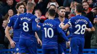 10. Chelsea memiliki rating bintang lima dengan overall rating 83. (AFP/Ian Kington)