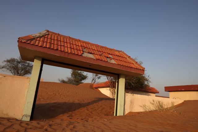 Al-Madam, Desa Terkubur Pasir di di Timur Tengah