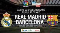 La Liga Real Madrid Vs Barcelona (Bola.com/Adreanus Titus)