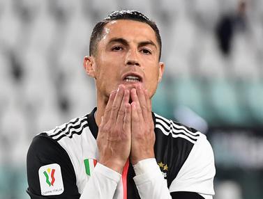Ronaldo Gagal Penalti, Juventus Lolos ke Final Coppa Italia