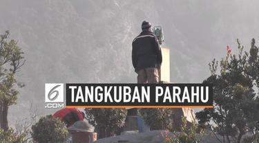 PVMBG terus melakukan pemantauan kondisi Gunung Tangkuban Parahu usai mengalami erupsi. Hasilnya, kondisi Tangkuban Parahu belum stabil hingga kini.