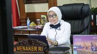 Menteri Ketenagakerjaan Ida Fauziah.