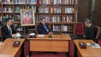 SBY bertemu Menlu Singapura Vivian Balakrishnan. (Istimewa)