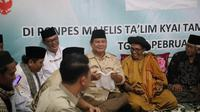 Calon Presiden nomor urut 02 Prabowo Subianto kembali menyampaikan komitmennya mewujudkan swasembada pangan di Indonesia