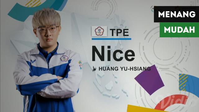 Wakil Chinese Taipei pada gim Starcraft 2, Huang Yu-Hsang menang mudah atas Srilanka dalam tiga set hanya menghabiskan waktu kurang dari 10 menit di E-Sports Asian Games 2018.
