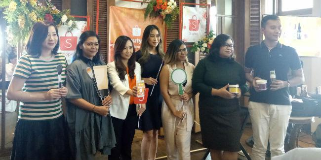 Para perwakilan brand di Shopee Beauty Fair/Vemale.com