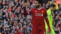 Mohamed Salah ternyata bukan debutan terbaik di sejarah Liga Inggris (LINDSEY PARNABY / AFP)