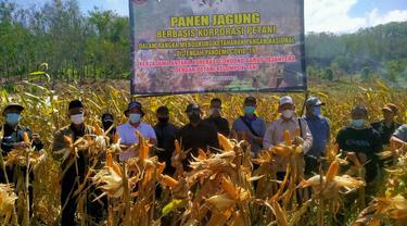 Untuk mendukung peningkatan produksi jagung nasional, Pemda Garut, Jawa Barat tengah mengembangkan pengembangan jagung berbasis korporasi.