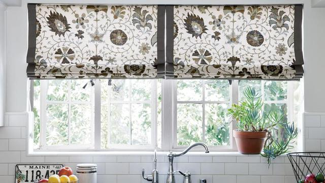 Model Tirai Untuk Jendela Dapur Anda Rumah