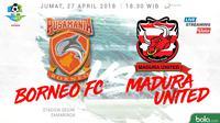 Liga 1 Borneo FC Vs Madura United (Bola.com/Adreanus Titus)