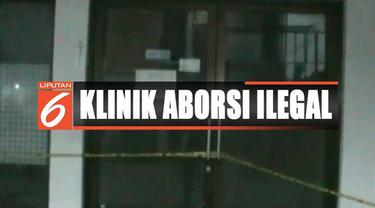 Polisi menguak klinik aborsi ilegal yang sudah berkali-kali ganti nama di daerah Tambun Selatan, Bekasi, Jawa Barat.