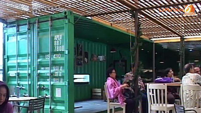 VIDEO: Keunikan Kedai Kopi dengan Nuansa Kontainer - News