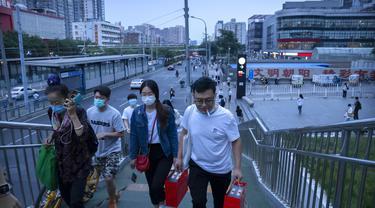 Cegah Kenaikan Kasus COVID-19, China Perketat Pembatasan