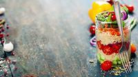 Ilustrasi Foto Salad (iStockphoto)