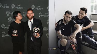 Bak Teman Akrab, 6 Editan Foto Bersama Lionel Messi Ini Kocak