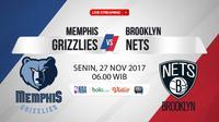 Memphis Grizzlies Vs Brooklyn Nets (Bola.com/Adreanus Titus)