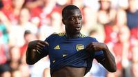 9. Nicolas Pepe (Penyerang) - Dari Lille ke Arsenal dengan harga 80 juta euro. (AFP/Ben Stansall)