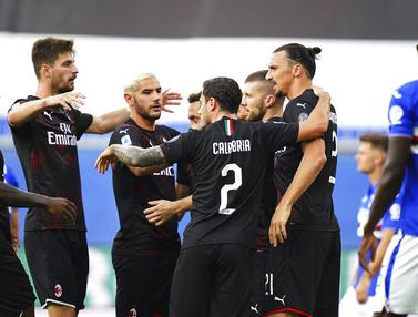 Zlatan Ibrahimovic, AC Milan, Sampdoria