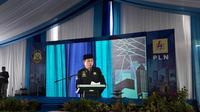 Menteri ESDM Ignasius Jonan meresmikan pengoperasian 3 Gardu Induk (GI) dan SUTT (Saluran Udara Tegangan Tinggi) di Takengon, Aceh. Liputan6.com/Bawono yadika