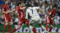 Bayern Munchen memaksa Real Madrid memainkan babak tambahan setelah berhasil menyamakan kedudukan pada waktu normal pertandingan. (doc. UEFA)