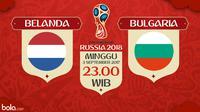 Kualifikasi Piala Dunia 2018 Belanda Vs Bulgaria (Bola.com/Adreanus Titus)