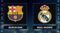 Liga Spanyol: Barcelona vs Real Madrid. (Bola.com/Dody Iryawan)