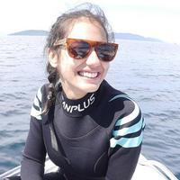 Pevita Pearce hobi diving (Instagram/pevpearce)