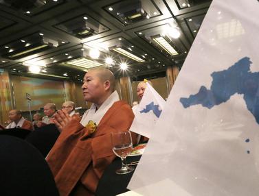 Dukung Persatuan Kedua Negara, Biksu Korea Selatan dan Korea Utara Berkumpul