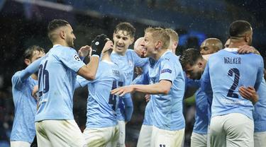 Pertama Kali, Manchester Ciry ke Final Usai Kalahkan PSG 2-0