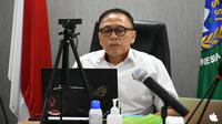 Dalam rapat yang digelar secara virtual, Ketua Umum PSSI, Mochamad Iriawan, menyebut persiapan Piala Dunia U-20 2021 lancar dan tanpa hambatan. (dok. PSSI)